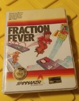 Fraction Fever Family Learning Games Spinnaker Commodore 64 1983