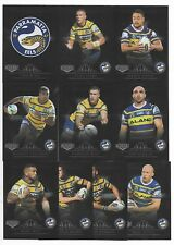 2018 NRL Elite EELS Silver Special Parallel Team Set