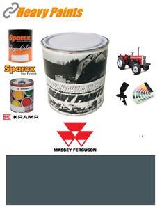 Massey Ferguson Grey Paint High Endurance Enamel Paint 1 Litre Tin