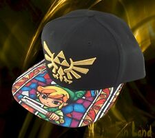 New The Legend of Zelda Stained Glass Sub Bill Mens Snapback Hat Cap