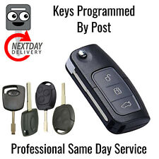 Ford Focus Replacement Flip Key Fob Remote New Programming Coding + Cutting