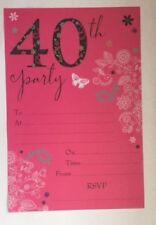 Festoni, ghirlande e striscioni rose compleanno bambino per feste e party, tema farfalle