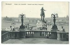 Budapest, View Across River From Buda Castle PPC Unposted, Early 20th c