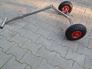 Schlauchbootwagen  Bugwagen Slipwagen  Schleppwagen  Sliphilfe  Edelstahl-NEU