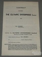 1939 Quebec Hal Bennett Signed Baseball Contract