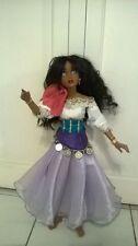 "Disney The Hunchback of Notre Dame Esmeralda OOAK 20"" Lorifina Doll Hasbro Good"