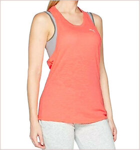 PUMA Underwear Sport Woman Tank Tops T-Shirt Pink Size XL/46 Running Dry Cell