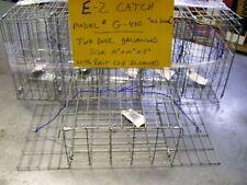 NEW E-Z Catch Crabbing Kid/'s Size Weekender 2 Door PVC Coated Orange Crab Trap