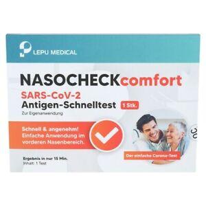 LEPU MEDICAL® Schnelltest Antigen Laien Nasal Test 1 Stück BfArM zugelassen