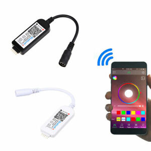 Mini Bluetooth LED Controller & Remote For 5050 RGB LED Strip Light APP Controll