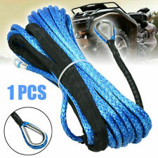 """1/4"""" x 50' Synthetic Winch Rope Line Cable 8200LB Capacity ATV/UTV Boat BE"""