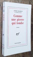 EO 1964 1/23 HOLLANDE André CHAMSON : COMME UNE PIERRE QUI TOMBE excellent état