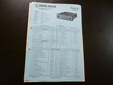 Original Service Manual Autoradio  Philips ND 484 VT Paladin 484
