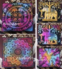 "5 Pcs. Set Of Square 35"" Cushion Cover Pet Bed Covers Indian Mandala Room Decor"