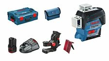 Bosch GLL 3-80 C Linienlaser mit 2 Ah Akku im L-BOXX - Blau