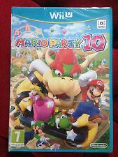 MARIO PARTY 10 Nintendo Wii U WIIU  PAL VF FRANCAIS ++ 100% NEUF ++ Jeu Amiibo