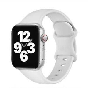 Silicone Strap Apple Watch Band rubber watchband iWatch 6 SE 5 4 3 2 38/40 42/44