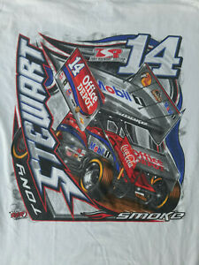 SPRINT CAR -  TONY STEWART  -  2011 T-SHIRT - LARGE