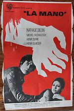 """Used - Cartel de Cine  """"LA MANO""""  Vintage Movie Film Poster - Usado"""