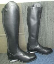 New listing Mens ARIAT Nitro Max Tall Black Leather Equestrian Boots 11.5 D ~ Excellent