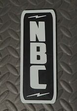 NBC Vintage Microphone Call Letters Stand Flag Antique TV Radio Logo 3D printed