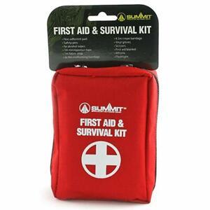 First Aid Survival Kit Camping Hiking Walking Car Travel  RRP £19 Bulk Discount