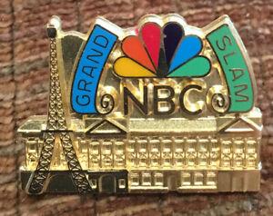 1980's NBC GRAND SLAM PRESS MEDIA PIN HIGH QUALITY