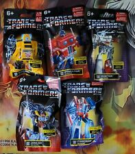Transformers Sealed Mini Figures Lot By Hasbro! 5 Different 2020 Mini Figures!