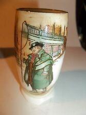 Tony Weller Watchman Mini Vase Royal Doulton Vintage No Chips Or Cracks , Mint