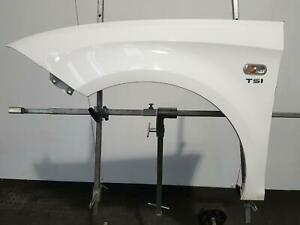 2012 SEAT LEON 5 DOOR HATCHBACK NEARSIDE FRONT PASSENGER WING WHITE B9A