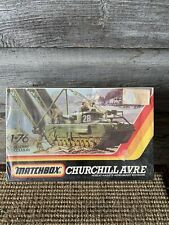 Vintage Matchbox Military Tank Kit Churchill Assault Bridge