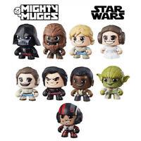 Star Wars MIGHTY MUGGS Action Figures DARTH VADER LUKE CHEWBACCA LEIA REY 2017