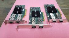 Lot of 3 IBM Mellanox 2 Dual Port 10Gbe Adapter 81Y9993