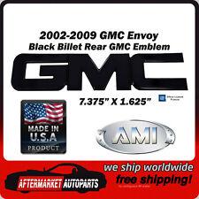 2002-2009 GMC Envoy Black Powder Coat Billet GMC Rear Emblem AMI 96502K