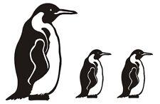 3 Pinguin-Aufkleber, Fliesen, Deko, Bad, Kacheln, Auto