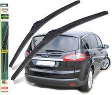 """Ford S-Max 2006-2014 windscreen wiper blades HEYNER HYBRID 30"""" 26""""TL"""