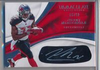 JEREMY McNICHOLS 2017 Immaculate Rookie Eyeblack AUTO /99 - Buccaneers RC