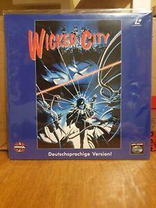 Laserdisc Wicked City PAL DEUTSCH sehr selten