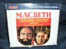 Verdi – Macbeth -Warren / Rysanek / Metro. Opera Orchestra And Chorus/Leinsdorf