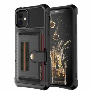 Luxury Phone Case Card Slots For Iphone 12 Pro 11 Pro Max Xr Xs Protection Cases