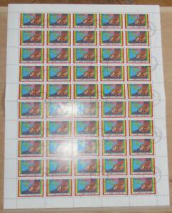 Sao Tome e Principe - 1991, Mi 1301 als Bogen gest.