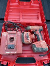 Hilti Sid 144 A Cordless Impact Driver 2 144v Batteries And C 436 Charger
