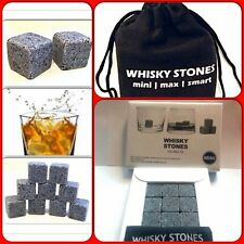 Whisky/Whiskey Sipping Stones 9 Stones come presented in a White Box