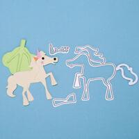 Horse dies shape paper metal dies cutting die for Scrapbooking DIY album cards