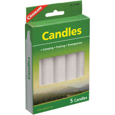 Coghlan's Candles (5 Count), Burns 4-5 hrs, Smokeless Dripless Emergency Camping