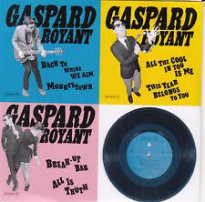 GASPARD ROYANT - Vinyl Trilogy - CD PROMO 6 titres - 2013 - RARE !