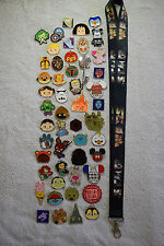 Disney pin trading Starter Set Lanyard + 100 pin lot NEW STAR WARS Lanyard
