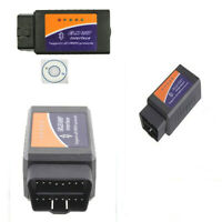 ELM327 Bluetooth OBD2 Interface Android Torque Scanner Benz BMW Audi Volvo
