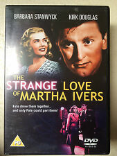 Strange Love of Martha Ivers DVD 1946 Film Noir Classic w/ Barbara Stanwyck