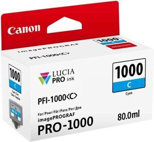 Canon PFI-1000 Cyan Lucia Pro Ink Cartridge For CANON  ProGraf PRO-1000 PFI1000C